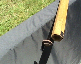 Handcrafted Solid Red Oak Fly Rod Case For Fly Fishing Rod