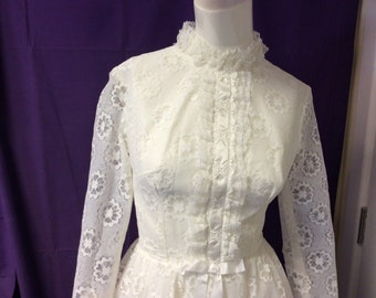 Vintage wedding dress, 1950s wedding dress, wedding dress