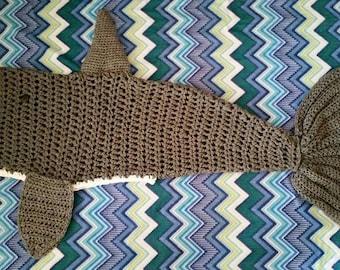 Made To Order Shark Blanket