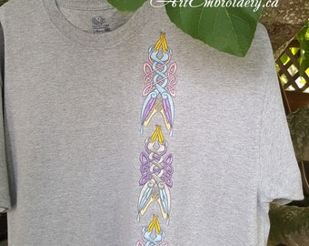 Celtic Two Intertwined Birds - Embroidery Designs Set 1 for  Celtic and Irish projects