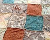 Baby Quilt // You CHooSE CoLoR/Style!! // Crib Quilt, Toddler RAG QUILT // Rustic Modern, Cottage, Luxe, Nursery, Bedding, Quilt