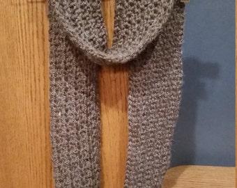 Crochet Scarf/Tundra Alpaca and Acrylic blend