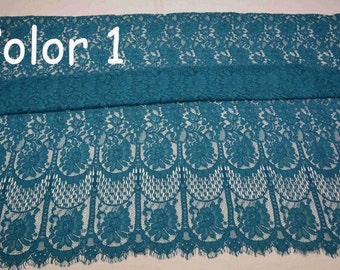 Black lace fabric for dress,bone eyelash lace fabric,cored lace ,red lace for dress,lovely Aquamarine lace-150cm*150cm