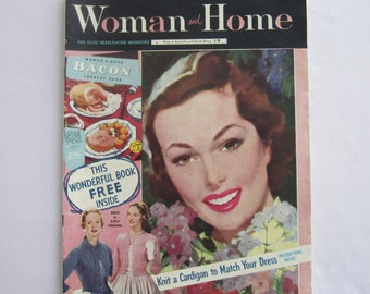 1950s 'Woman and Home' Magazine (June 1957)
