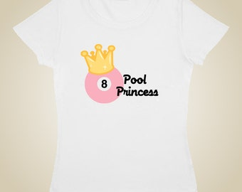 Pool Billiards t-shirt Pool Princess
