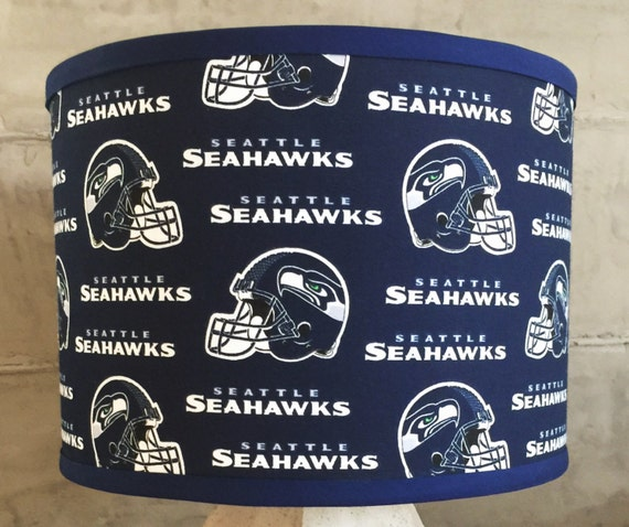 NFL SEATTLE SEAHAWKS Trendy Drum Lamp Shade for Man Cave Fan