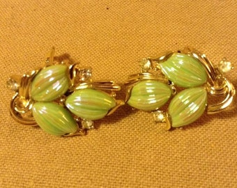 Vintage Clip On Earrings by Coro