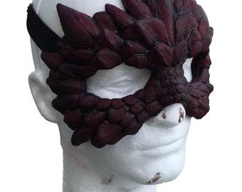 Dragon Scale Masquerade style Mask - Flexible Urethane
