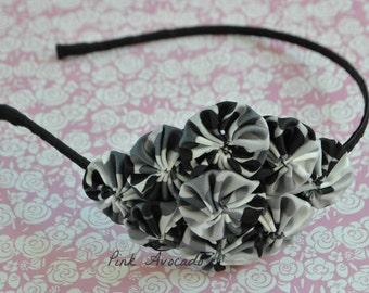 Black Camouflage Yoyo Headband