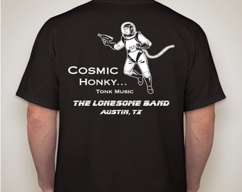 Cosmic Honky Tonk Tshirt- Black