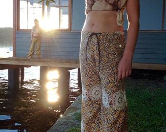 Children Girls Cotton Joni Pants.Size 7 to 10.