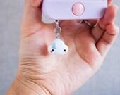 Cute White Cloud Phone Pl...