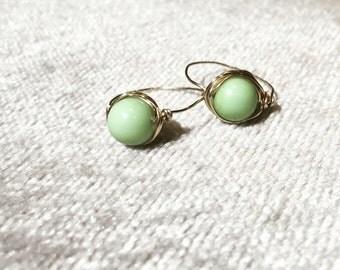 Jade Bead Ring