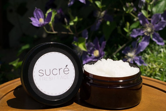 Sucré Dead Sea Face Scrub 8oz- Choose Your Fragrence
