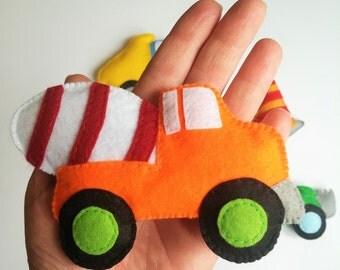 baby boy nursery toy car-stuffed car-felt car-boy kids car toy-baby boy nursery-baby boy gift-baby boy car
