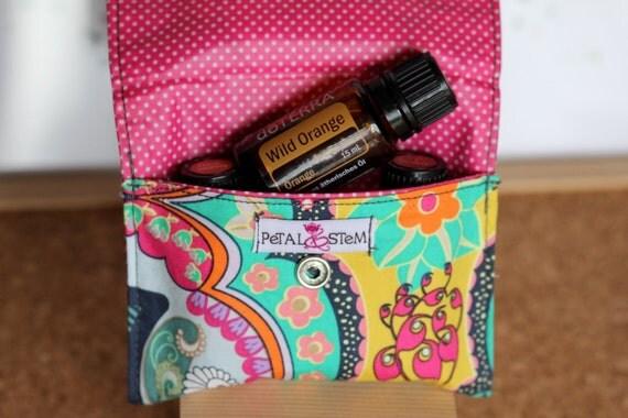 Essential Oil Bag for 3 bottles (15ml) Brit Boutique Royal, doTERRA, Young Living, Eden's Garden