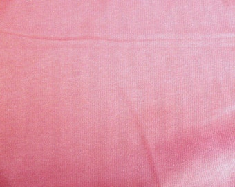 Fabric - cotton sweatshirt jersey fabric - pale pink