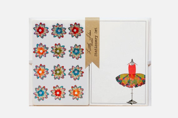 Stationery Set With Stickers.