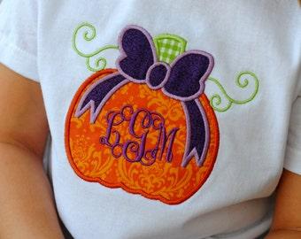 Personalized Pumpkin Tee