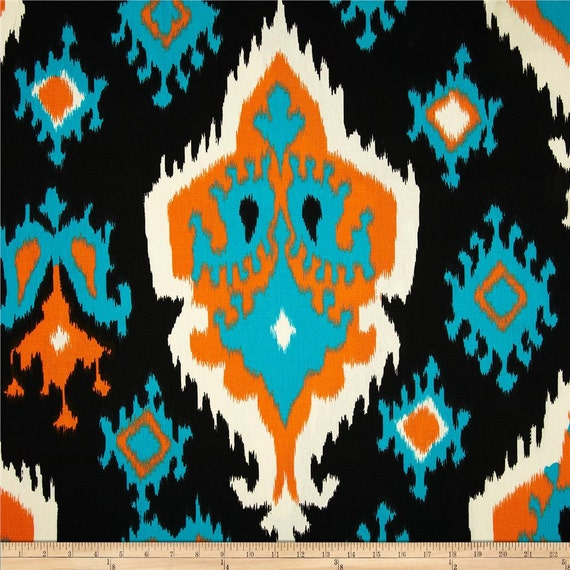 orange and blue ikat fabric fabric yardage premier prints. Black Bedroom Furniture Sets. Home Design Ideas