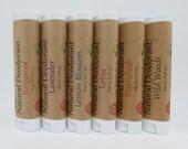 All Natural Deodorant - Mini Size 2 Pack, Essential Oil Deodorant, Aluminum-Free, Chemical-Free, Sensitive Skin