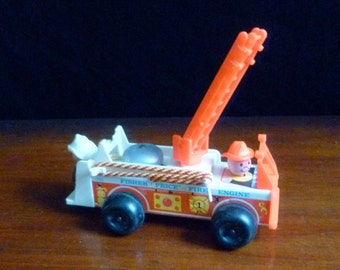 Fisher Price 1968 fire engine
