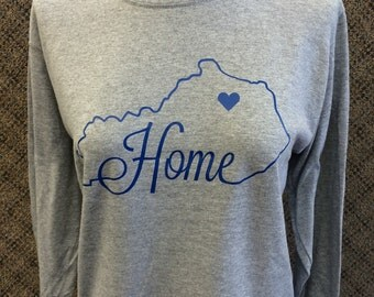 State of KY shirt with hometown designation