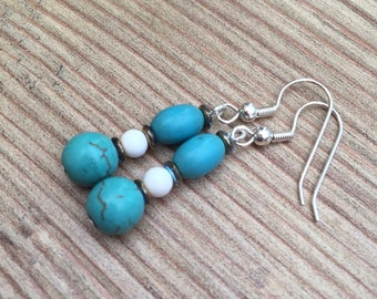 STOCK CLEARANCE- Turquoise earrings
