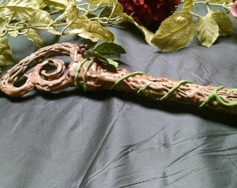 A powerful staff indeed - Wizard? Elf King, Queen? - The only one of its kind - it should belong to you! Cosplay, Larping!!