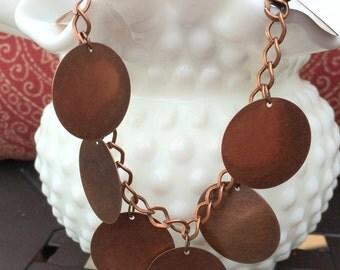 Copper Bangle Anklet