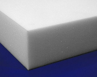 """Professional Upholstery Foam 6"""" Thick, 18"""" Wide X 72"""" Long Regular Density"""