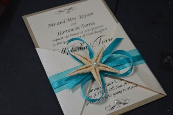 Etsy Beach Wedding Invitations: Beach Wedding Invitation Wedding Invitation By GretaArt On