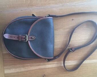Mulberry Scotchgrain Crossbody Handbag olive green