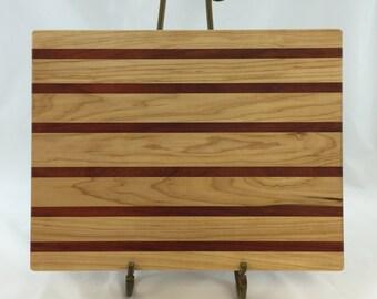 Maple and Padauk Cutting Board
