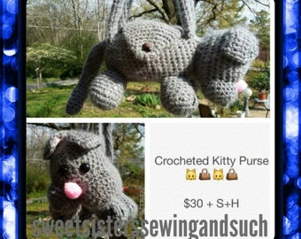 Kitty purse for your child or other animals