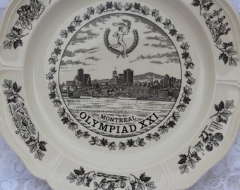Montreal Olympics 1976 Wedgwood Plate