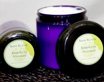 Lavender Vanilla - Organic Body Butter - Theraputic Essential Oils