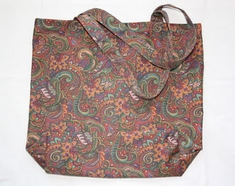 SALE Vintage Tote Bag