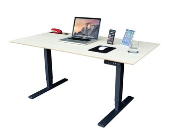 Electric TechDesk with UPLIFT Automatic Legs