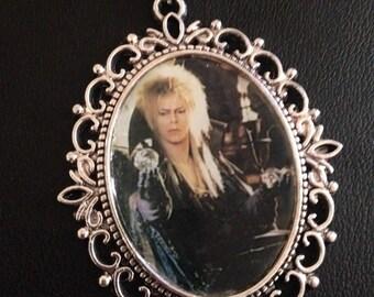 Labyrinth Jareth cameo necklace