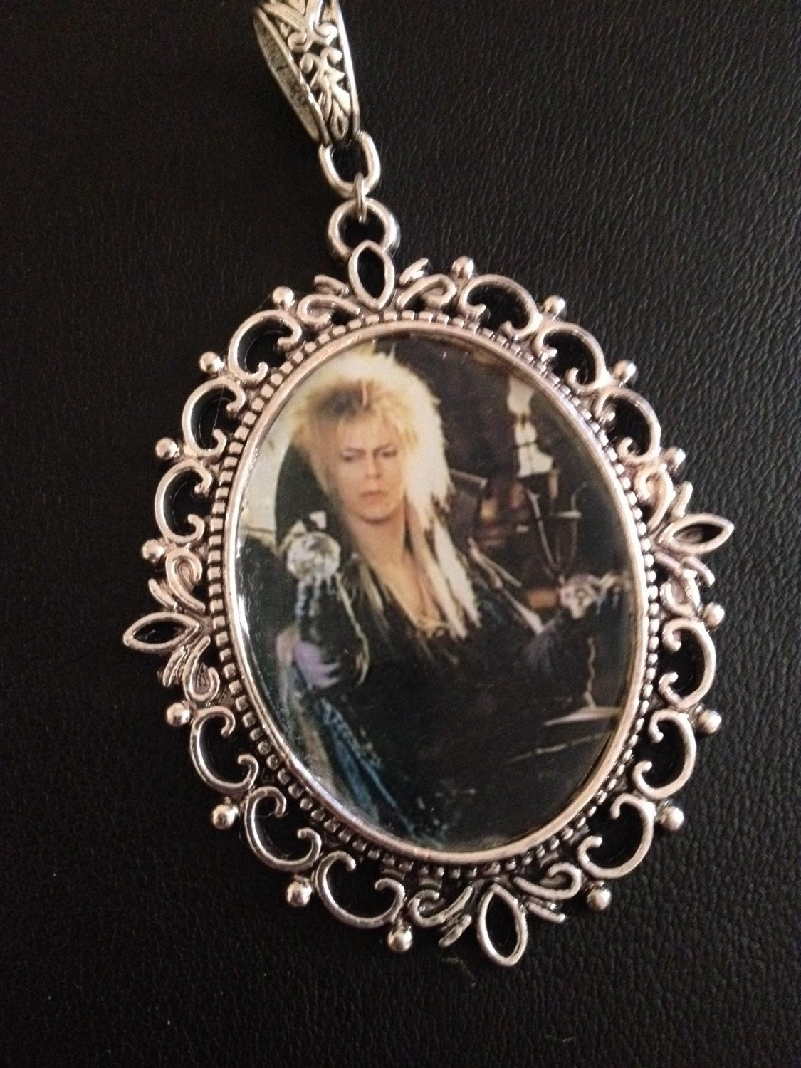 labyrinth jareth cameo necklace