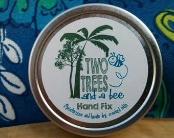 Deeply healing, naturally made hand repair balm made by a nurse.