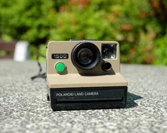 Ultra Rare Polaroid 1500 - Working Polaroid 70s instant camera - Polaroid OneStep