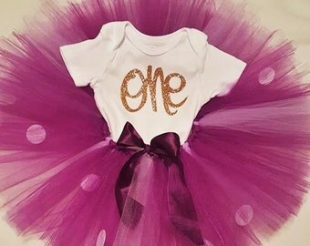 Babies First Birthday Tutu Outfit