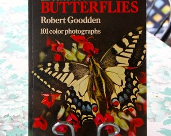 Vintage All Colour Book of Butterflies 1974