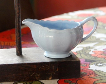 Vintage SOL Celeste Blue  J&G Meakin Milk Jug