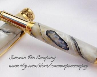 New Design Gold Lace Fountain pen