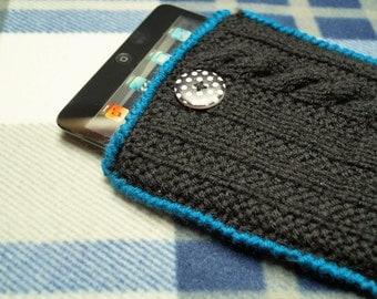 Crochet tablet case,iPad sleeve,Tablet cover