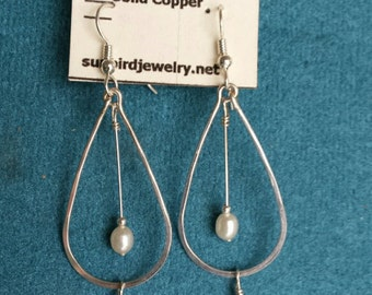 Sterling Silver Earrings Dangly