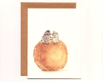 Funny Greeting Card, Love, Romance, Dung Beetle